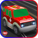 Kids Racing Ambulance 3D icon