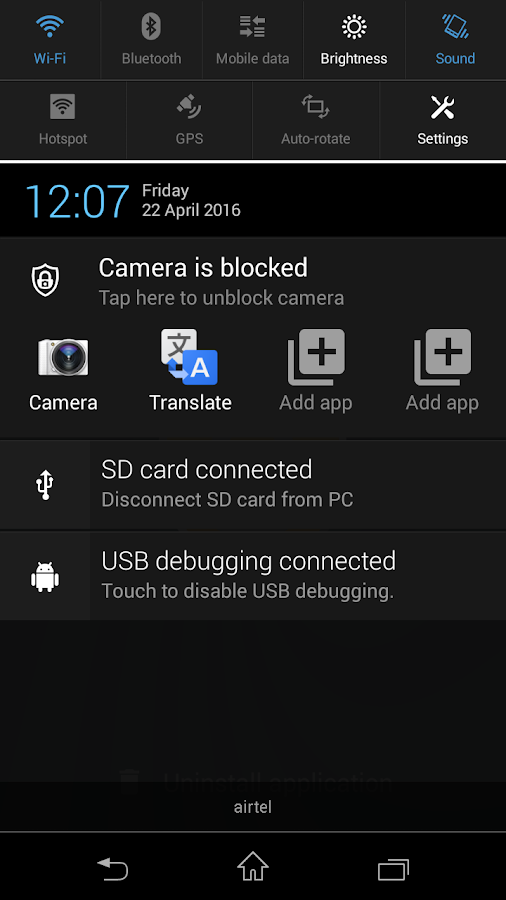 Camera Blocker - Anti Spyware Screenshot 6