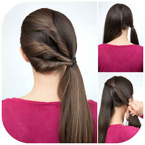 Hairstyles tutorials, easy step by step DIY instructions for women and girls APK Icon