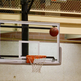 Suspended in time  by Shanna L Christensen - Sports & Fitness Basketball