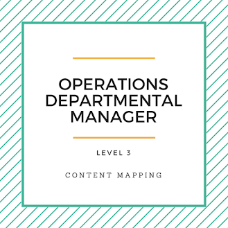 Operations Departmental Manager
