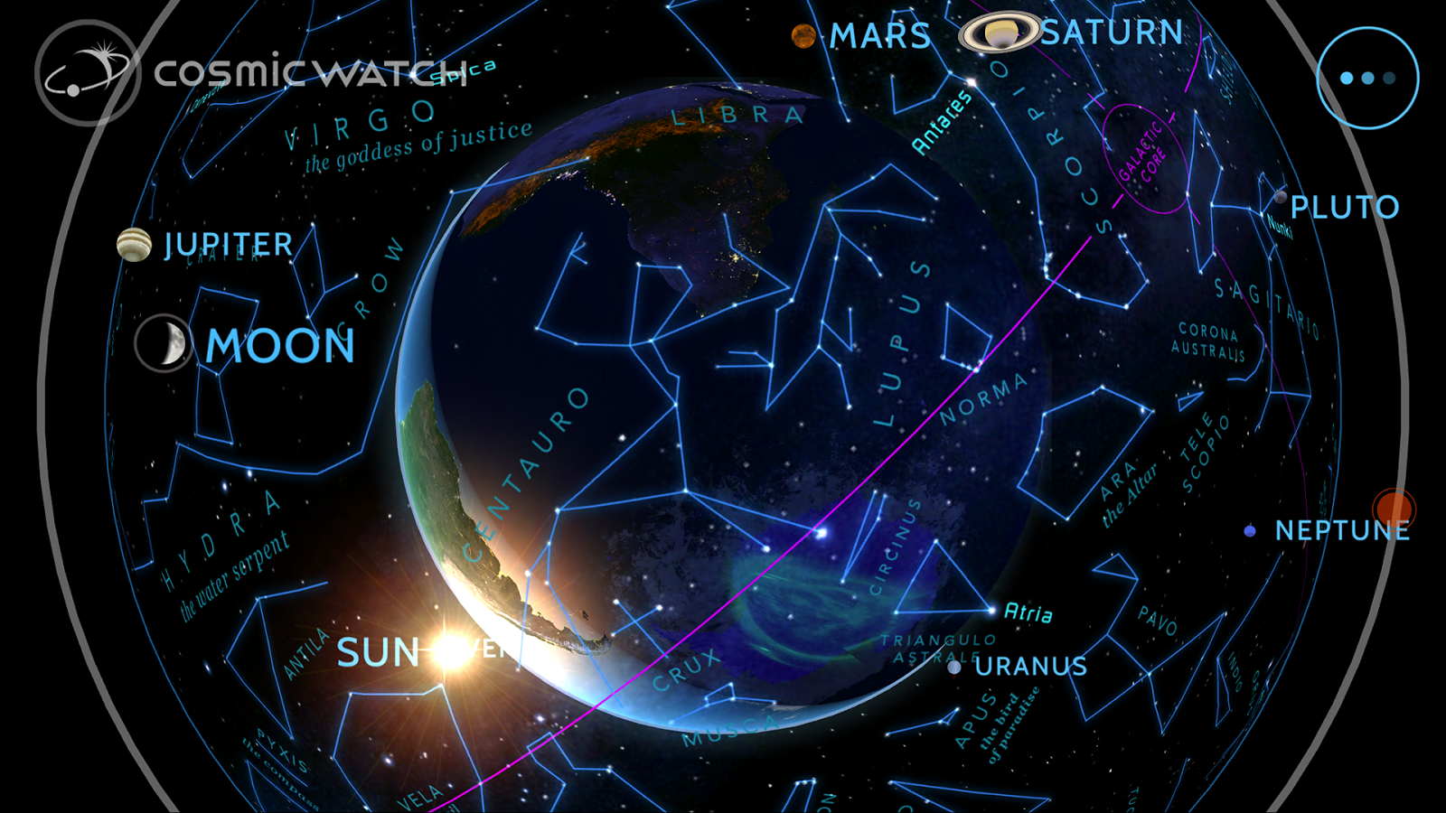 Cosmic-Watch Screenshot 7