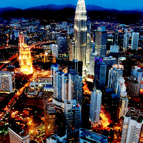 KL city by Woo Yuen Foo - City,  Street & Park  Skylines