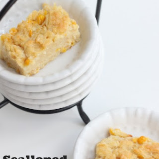 Scalloped Corn Bread