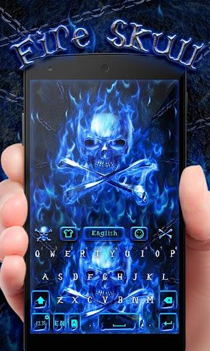 FireSkull GO Keyboard Theme screenshot 4