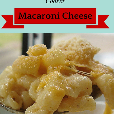 3 Minute Slow Cooker Macaroni Cheese