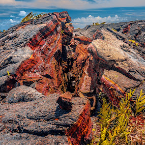 Lava by Danny Bruza - Landscapes Caves & Formations ( lava, hawaii )