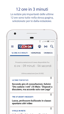 TGCOM24 Screenshot