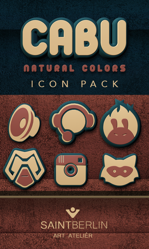 Cabu Icon Pack Natural Colors Screenshot