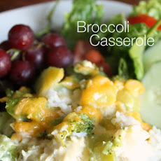 Broccoli Casserole with Chicken...can be made in 30 minutes or less...