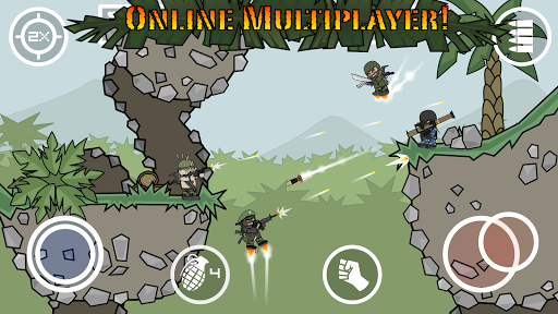 Doodle Army 2 : Mini Militia screenshot 6