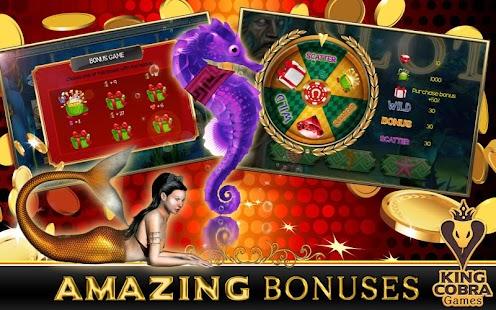 Neptune's Gold Slot Machine - Play Amaya Slots for Free
