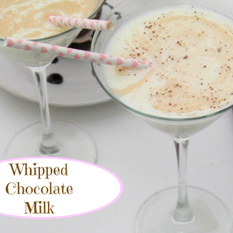 Whipped Chocolate Milk