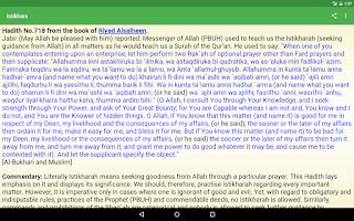 Screenshot of Istikhara