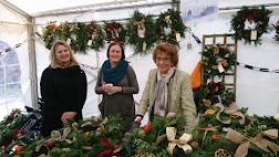 Photo 4 / 8 - Jan 2019, Watts Gallery, Wreath sales team