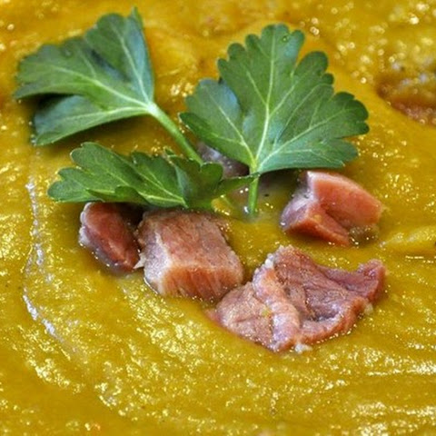 Split Pea Smoked Turkey Soup