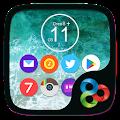 Oreo8 & Ios11 Go Launcher Theme APK for Ubuntu