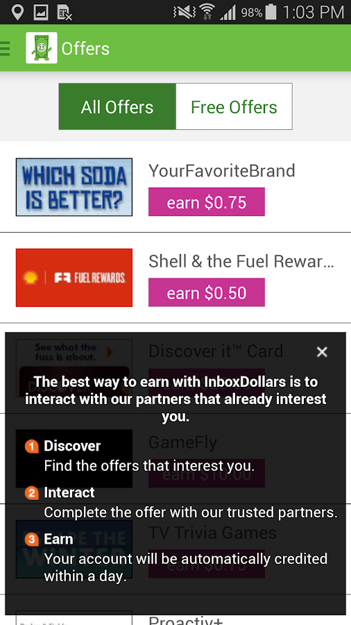 InboxDollars Screenshot 3