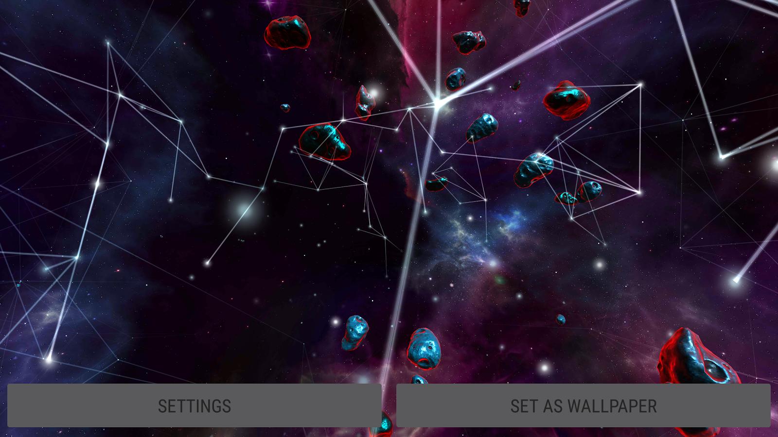 Particle Plexus Sci-Fi 3D Live Wallpaper Screenshot 18