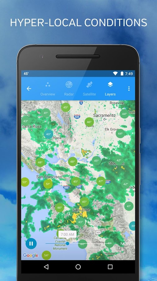 Weather Underground Screenshot 2