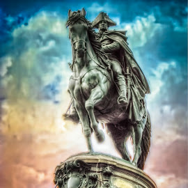 On a Mission by Mark Ward - Buildings & Architecture Statues & Monuments