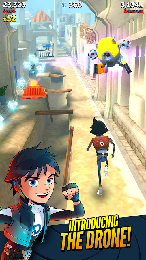 Agent Dash Screenshot 1