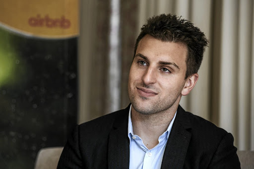 Brian Chesky. Picture: BLOOMBERG/ WALDO SWIEGERS