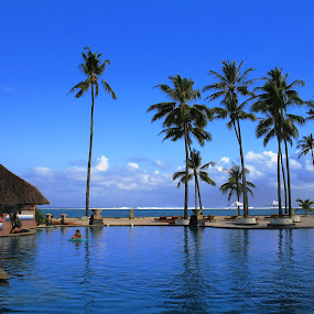 A part in Bali by Pandu Sinatriyo - Novices Only Landscapes ( bali, sky, blue, beach, landscape )