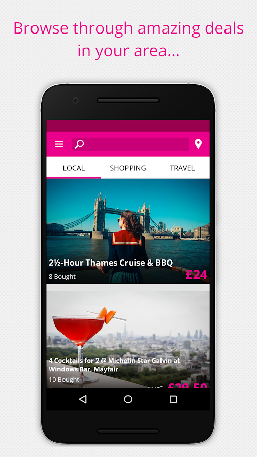 Wowcher – Deals & Vouchers Screenshot