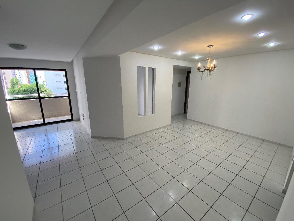Apartamento com 3 dormitórios para alugar, 82 m² por R$ 1.100,00/mês - Tambaú - João Pessoa/PB