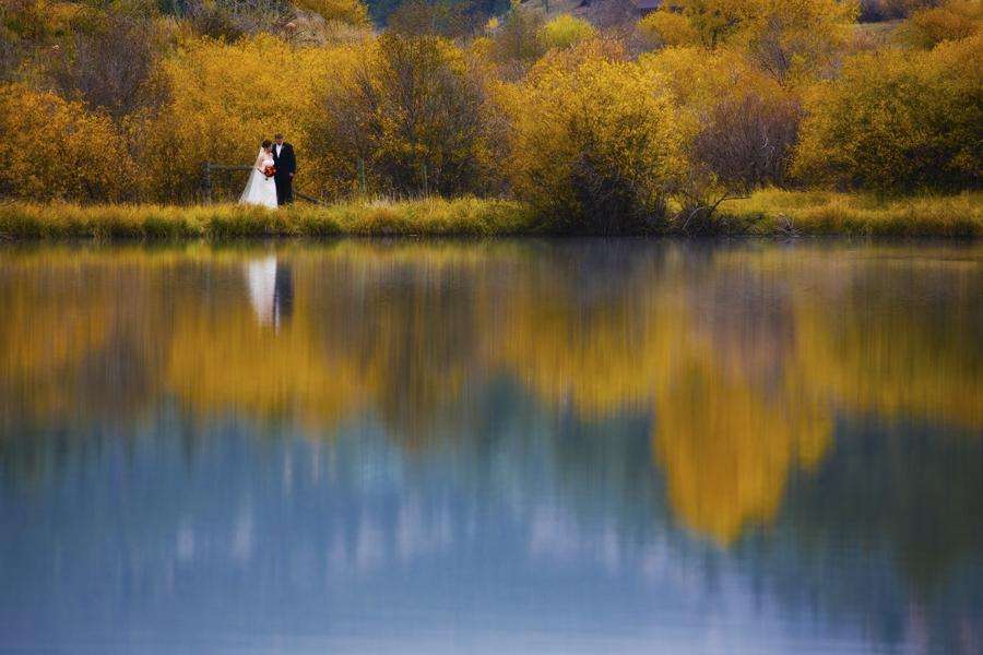 by Debi Tipton - Wedding Bride & Groom