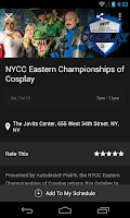 Screenshot of NYCC Mobile