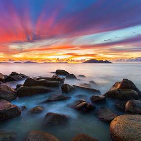 The Night Before by Andre Adhie - Landscapes Waterscapes