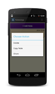 NotesApp - screenshot