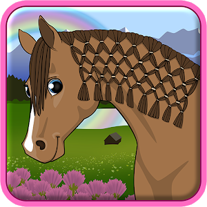Horse Care - Mane Braiding