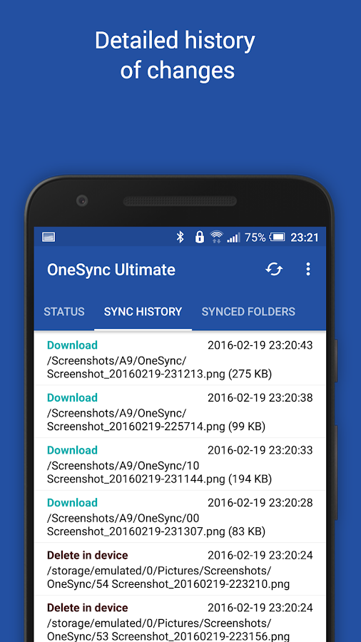Autosync OneDrive - OneSync Screenshot 6