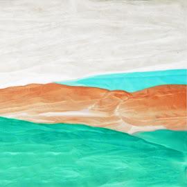Landscape by Joseph Vittek - Abstract Patterns ( ocean, abstract )
