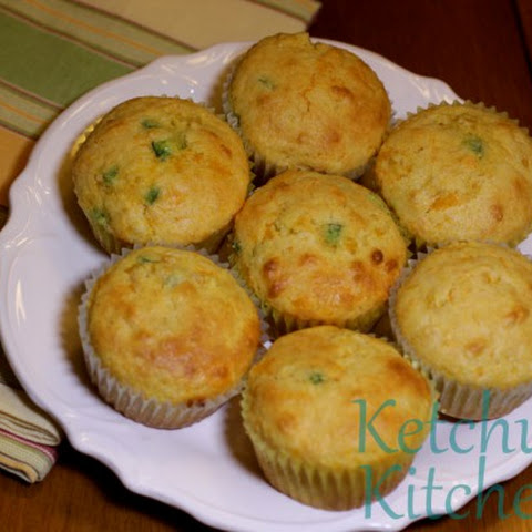 Jalapeño Cheese Corn Muffins