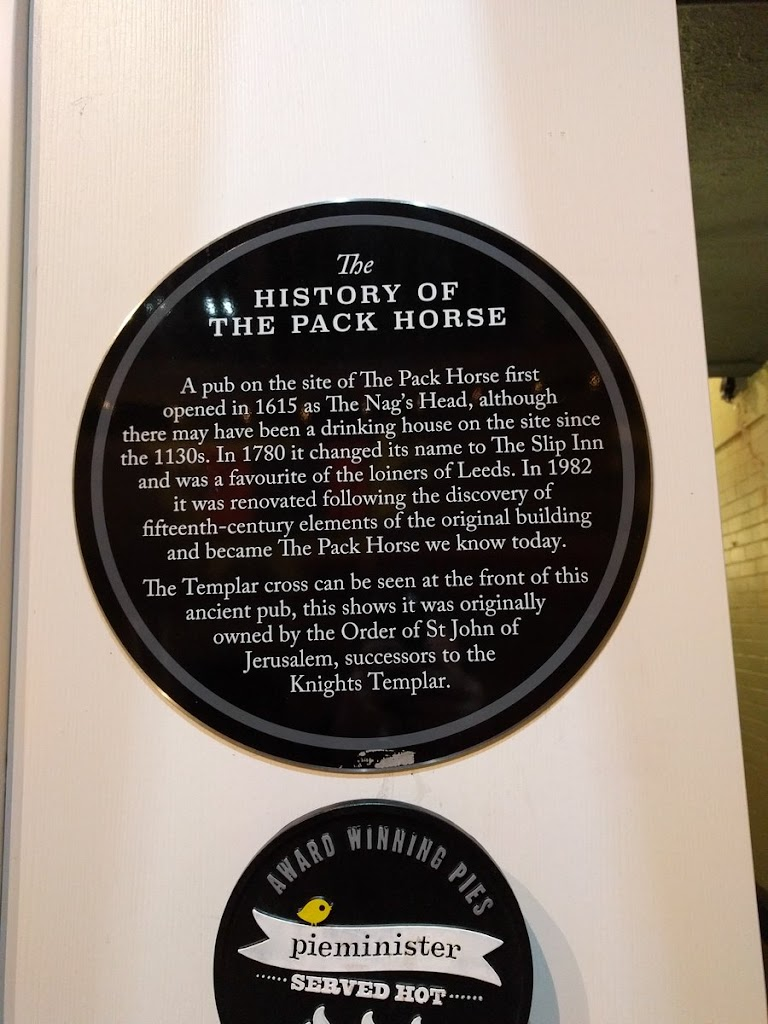 The HISTORY OF THE PACK HORSE  A pub on the site of The Pack Horse first opened in 1615 as The Nag's Head, although there may have been a drinking house on the site since the 1130s. In 1780 it ...