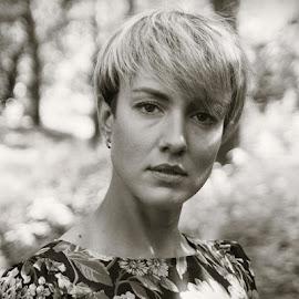 *** by Valentyn Kolesnyk - Black & White Portraits & People