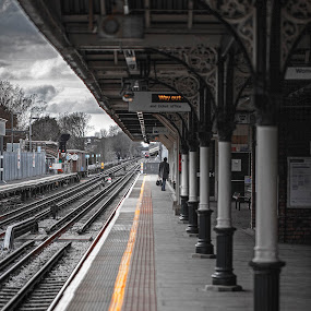 Drama in Focus. by Sorin Bogdan - Travel Locations Railway ( 2013, london, latimer, chalfont, train )