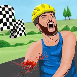 Bloody Wheels 2 : The Blood and happy Glory wheels For PC