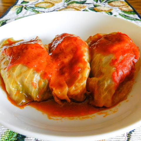 Paleo Pigeons (Stuffed Cabbage)
