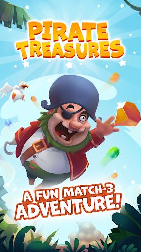 Pirate Treasures - Gems Puzzle screenshot 24