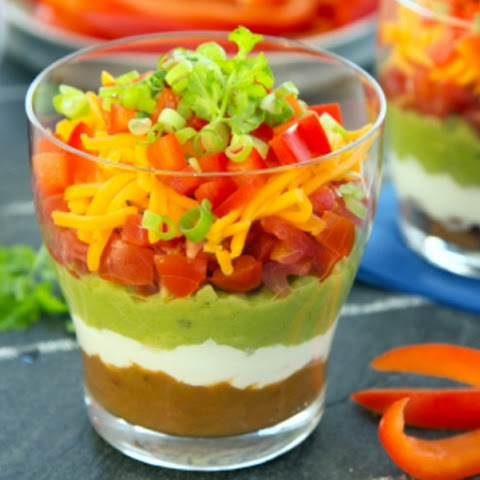Game Day Seven Layer Dip