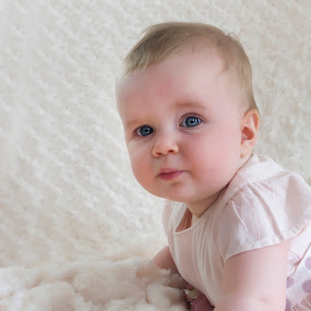 who me? by Julie Wetherell - Babies & Children Babies ( child, girl, sweet, baby, cute, eyes )