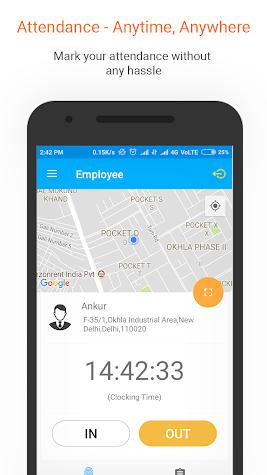 Employroll - A Cloud Based HRMS & Employee Tracker Screenshot