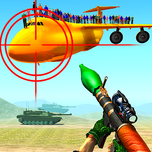 Jet War Fighter Airplane Shooting Game For PC / Windows 7/8/10 / Mac – Free Download