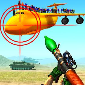 Jet War Fighter Airplane Shooting Game Online PC (Windows / MAC)