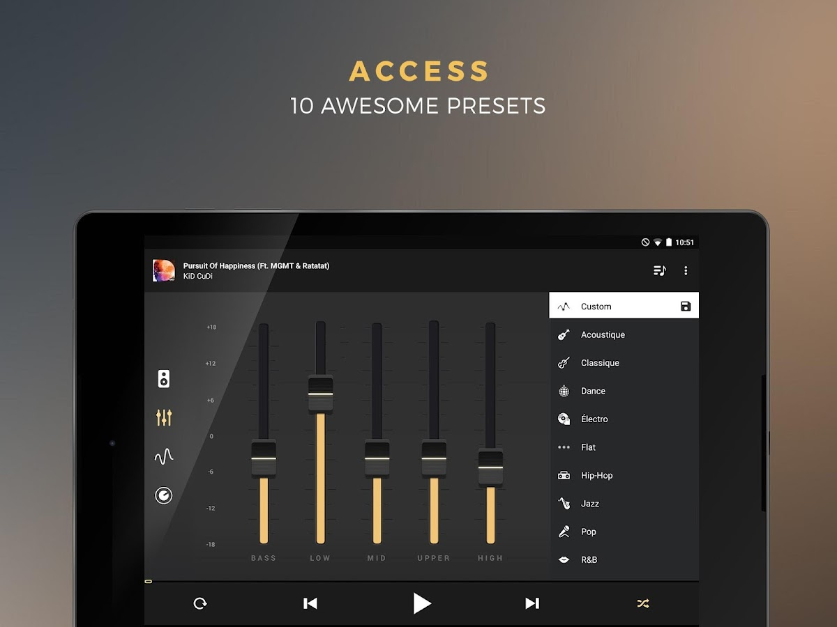 Equalizer + Pro (Music Player) Screenshot 13